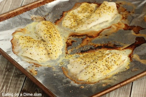 baked tilapia done