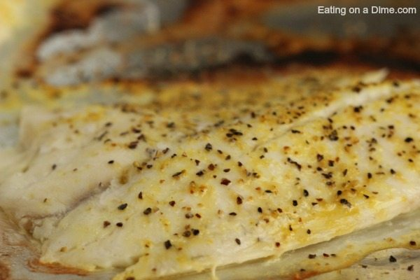 Baked Tilapia Up Close