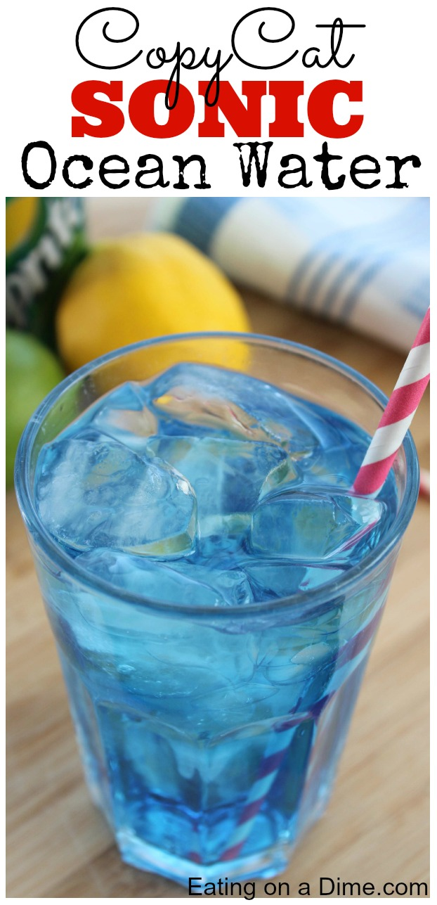 Easy sonic ocean water recipe eating on a dime for Fun cocktails to make