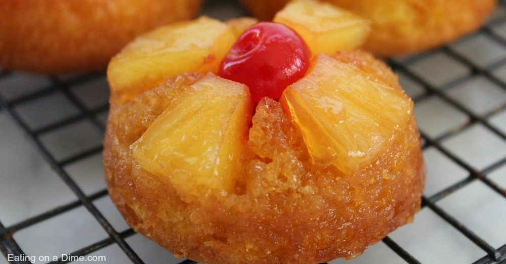 Pineapple Upside Down Cake With Cake Mix Cupcakes