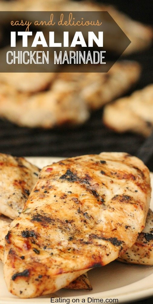 Easy Italian Chicken Marinade Eating On A Dime