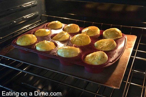 muffins de ovos mexidos - pop-up