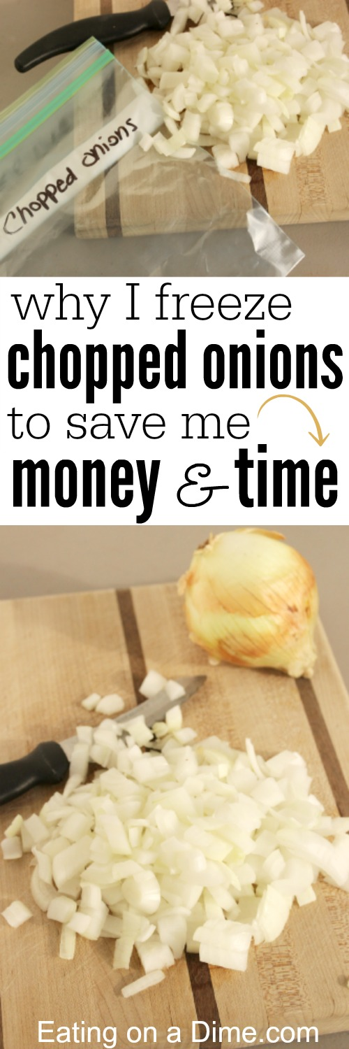why i freeze onions to save me money and time